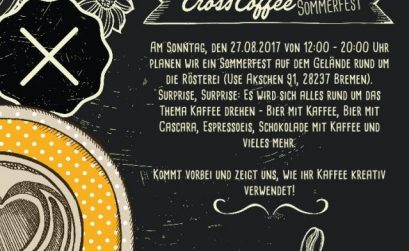 Cross Coffee Sommerfest Bremen 25. - 27.8.