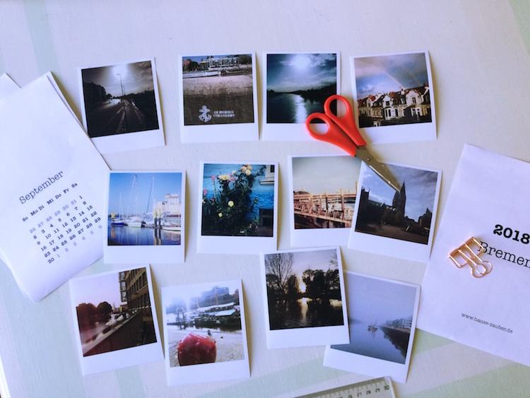 Bremen Kalender 2018 DIY
