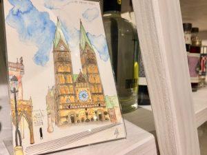 Diese wunderhübschen Postkarten werden von Corinna angefertigt. Ihre Produkte findet ihr unter www.cosabe-artwork.de